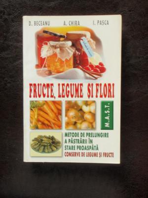 FRUCTE, LEGUME SI FLORI - D. BECEANU foto