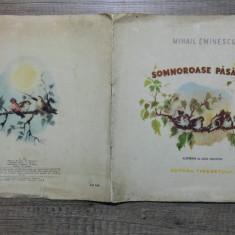 Somnoroase pasarele - Mihail Eminescu/ ilustratii Ligia Macovei - Carte poezie copii