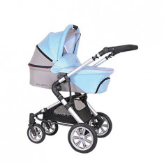 COLETTO - CARUCIOR GIOVANNI 2 IN 1 BLUE - Carucior copii 2 in 1