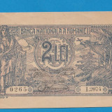 2 lei 1920 1 aUNC - Bancnota romaneasca