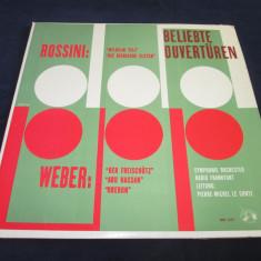 Rossini/weber-wilhelm tell/die diebische elster/der freischutz/abu hassan/oberon - Muzica Opera Altele, VINIL