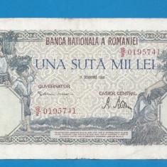 100000 lei 1946 21 Octombrie 5 - Bancnota romaneasca