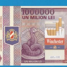 Bon 1000000 lei 1998 WINCHESTER 2 UNC - Bancnota romaneasca