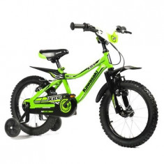 Bicicleta Copii Kawasaki Kbx Green 16 Atk Bikes