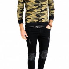 Bluza fashion army tip ZARA - bluza barbati - CALITATE GARANTATA 7504, Marime: L, Culoare: Din imagine