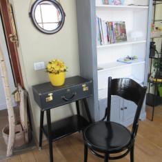 Consola hol - set măsuță, scaun și oglindă