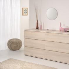 Comoda NEO SALCAM 6 sertare - Comoda dormitor