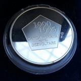 Medalie BRD aniversare 5 ani în Romania argint