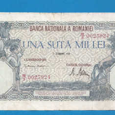 100000 lei 1946 21 Octombrie 3 - Bancnota romaneasca