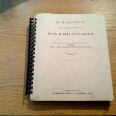 NOUL TESTAMENT * Transcriere in Braille ( 3 vol. ) - Lutheran Braille Workers, Alta editura