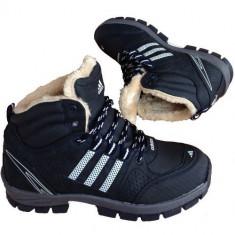 Bocanci Adidas Outdoor Imblaniti Barbati iarna PERFECTI - Bocanci barbati, Marime: 40, 41, 42, 43, 44, Culoare: Camel, Negru, Piele sintetica