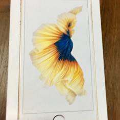 Iphone 6S sigilat gold neverlock - Telefon iPhone Apple, Auriu, 16GB, Neblocat