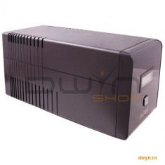 Njoy UPS Line Interactive 1000VA, Tower, ISIS 1000L, AVR, RJ45/RJ11 surge protection, 4 Schuko backu