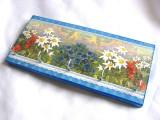 Cuier din lemn -flori de munte -27320