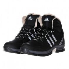 Bocanci Adidas Imblaniti Barbati iarna 3 culori - Bocanci barbati, Marime: 40, 41, 42, 43, 44, Culoare: Camel, Negru, Piele sintetica