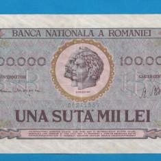 100000 lei 1947 25 Ianuarie 3 - Bancnota romaneasca
