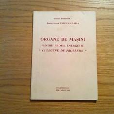ORGANE DE MASINI * Profil Energetic * Culegere de Probleme - A. Predescu - 2002