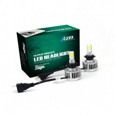 Kit becuri Led H7 12v/24v 66w 6000k 3000 lm Set 2 buc