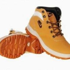 Bocanci Nike UNISEX Dama Barbati Mandara toate culorile - Bocanci dama, Culoare: Camel, Indigo, Negru, Marime: 42, 43, 44, Piele sintetica