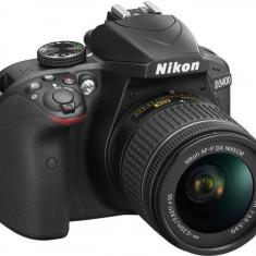 Nikon D3400 (AF-P 18-55 VR) 3 ani garantie body - DSLR Nikon, Kit (cu obiectiv), Peste 16 Mpx, Full HD