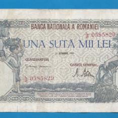 100000 lei 1946 21 Octombrie 6 - Bancnota romaneasca