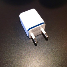 Incarcator / Adaptor cu 2 Porturi USB - Incarcator telefon iPhone, De priza