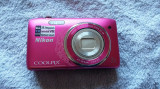 CAMERA FOTO NIKON COOLPIX S3500 ,DISPLAY SPART ,SE VINDE FARA ACUMULATOR .