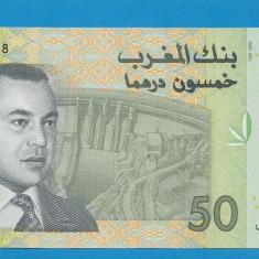 Maroc 50 dirhams 2002 UNC - bancnota africa