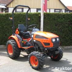 Tractor nou, 4x4 de 22CP cu cadru sau Cabina Kioti, Korea - Utilitare auto