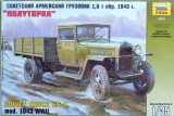 + Macheta 1/35 Zvezda 3574 - GAZ MM 1.5 Ton Truck - 1943 +
