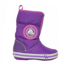 Cizme pentru copii Crocs Light Gust Boot Neon Purple (CRC13900-VOLX ) - Cizme copii Crocs, Marime: 29.5, 32.5, 33.5, 34.5, Culoare: Mov