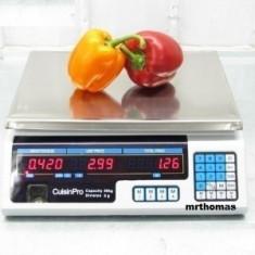 CANTAR ELECTRONIC pentru PIATA MAGAZIN 40 kg - Cantar comercial