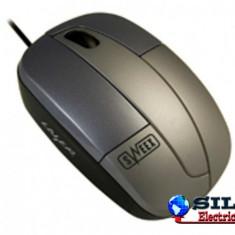 Mouse cu laser pentru notebook, cu cablu retractabil, Sweex