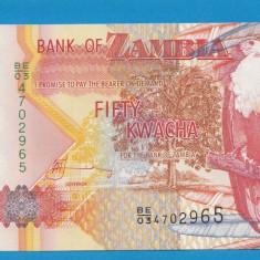 Zambia 50 kwacha 2003 UNC - bancnota africa