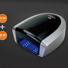 Lampa Unghii UV + LED Profesionala 54W cu 7 Neoane, Timer Digital - Lampa uv unghii