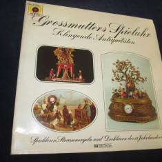 Grossmutters spieluhr - klingende antiquitäten_vinyl, LP, germania - Muzica Clasica emi records, VINIL