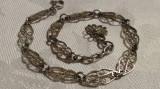 Bratara argint filigran VIENEZA 1900 finuta DELICATA Eleganta SPLENDIDA vintage