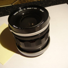 Obiectiv Canon FL 35mm 1: 2, 5 -vintage - Teleconvertor Obiectiv Foto