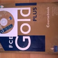 Manual Engleza, FCE Gold Plus, Jacky Newbrook, CD inclus, edit. Pearson Longman - Curs Limba Engleza Altele
