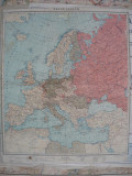 Harta Europei ( harta ruseasca) - 1943
