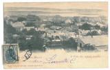 3639 - L i t h o, TURNU-SEVERIN, Panorama - old postcard - used - 1900 - TCV, Circulata, Printata