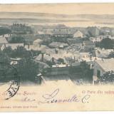 3639 - L i t h o, TURNU-SEVERIN, Panorama - old postcard - used - 1900 - TCV