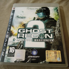 Tom Clancy's Ghost Recon Advanced Warfighter 2, PS3, alte sute de jocuri! - Jocuri PS3 Altele, Shooting, 18+, Single player