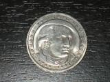 Moneda comemorativa 5 marci Germania 1982, D, Goethe, Europa