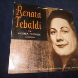 renata tebaldi - renata tebaldi chante desextraits de andrea chénier_LP,franta