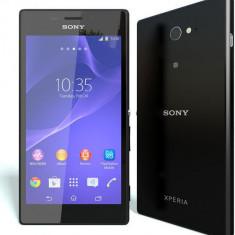 Sony Xperia M2 - Telefon mobil Sony, Negru, Orange