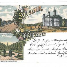 3643 - Litho, TURNU-SEVERIN - old postcard - used - Carte Postala Oltenia pana la 1904, Circulata, Printata