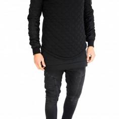 Bluza fashion neagra - bluza barbati - COLECTIE NOUA - cod produs: 7516, Marime: S, M, L, XL, Culoare: Din imagine