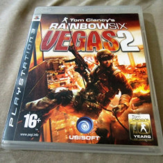 Joc Tom Clancy's Rainbow Six Vegas 2, PS3, original, alte sute de jocuri! - Jocuri PS3 Altele, Shooting, 18+, Single player