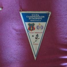 Fanion steaua anderlecht 1986 - Fanion fotbal